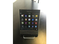 BLACKBERRY PASSPORT UNLOCKED WITH RECEIPT AND WARRANTY