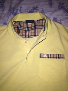 Burberry polo shirt (size XL)