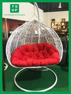 8409 Double Egg Swing Chair
