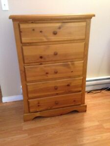 5 drawer Pine Dresser