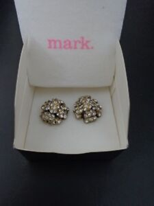 Brand new - Flower statement earrings (studs)