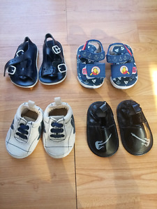 Baby shoes/sandals size 1 (3 for $5!)