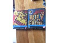 Monty Python double bill- Bluray limited edition steelbooks