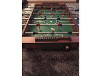 Table football.