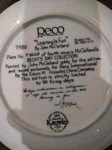 John McClelland decorative plates Cambridge Kitchener Area image 2