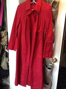 Women's Small Red Fall Spring Rain Coat from Gap Oakville / Halton Region Toronto (GTA) image 1