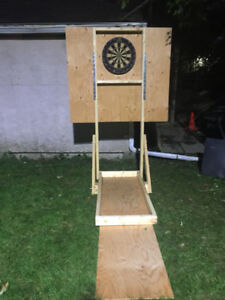 Dart Board Stand - Free Standing - Use outdoors or in!!
