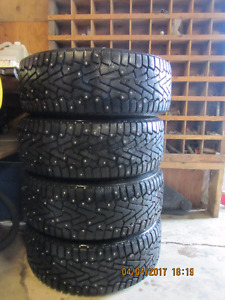 235/55R17 Pirelli Winter Tires