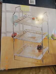 New In Box: Crystal Clear Alexandria 3-tier Server Rack Kitchener / Waterloo Kitchener Area image 1
