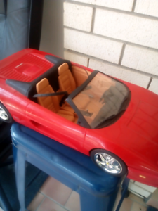 Barbie Ferrari car