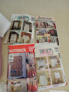 Drape or Table Cloth Material, Accessories &Instructions All $12 Kitchener / Waterloo Kitchener Area image 2