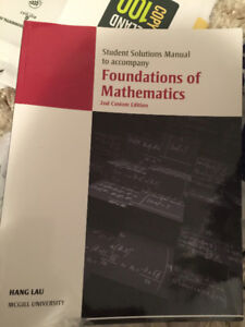 Solution book to foundations of Mathematics