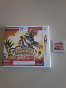 Pokémon Omega ruby for trade or sale