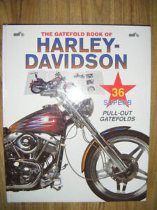 Collectible Harley Davidson Poster Book for sale
