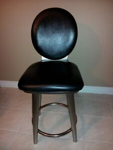 "SET OF (3) SWIVEL 40""  HIGH COUNTER TOP CHAIRS"