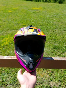 Mens large g-max motocross helmet