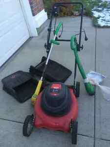 """19"""" 12A  MTF yard machines Electric mower and lots more"""