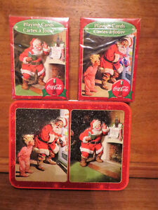 Collectible Tins and 5 sets of playing cards... Coca-Cola Edmonton Edmonton Area image 3