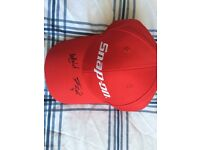 Signed Snap On cap