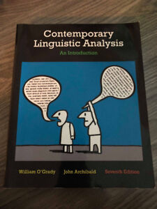 Contemporary Linguistic Analysis (Seventh Edition)