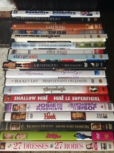 Selling Various DVDs