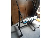 19 inch rack trolly for studio