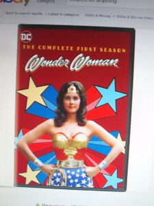 a brand new still sealed copy of season 1 of wonder woman
