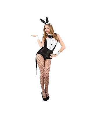 Ladies Sexy Hot Hostess Play Bunny Rabbit Fancy Dress Halloween Party Costume ()