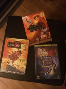 Disney platinum edition DVDs