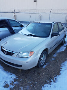"""The """"Beater Special""""... 2001 Mazda Protege"""