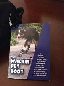 The Walkin pet boot- set of 4.