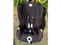 Britax First Class Plus child car seat . Ok from birth to 4yrs old. Good clean cond'