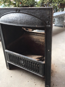 100 year old Victorian fireplace