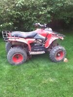 Need gone today for trade 1999 Polaris trail boss