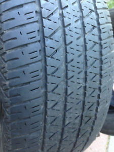 4   Firstone  Summer tires 215-65-16