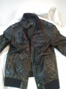 Super awesome men's leather jacket