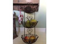 New Heart Wire Wall Storage Baskets