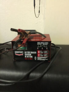 Manual bench battery charger