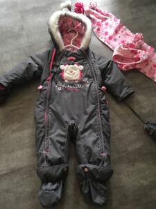 Manteau d'hiver one piece Souris Mini (12 mois)