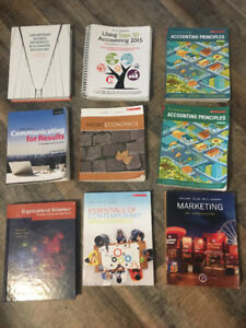 1st year Marketing books for Confederation College