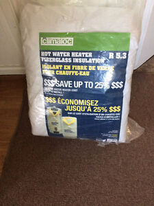 hot water heater insulation
