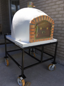 Outdoor Wood Fire Pizza Ovens - Brick BBQ