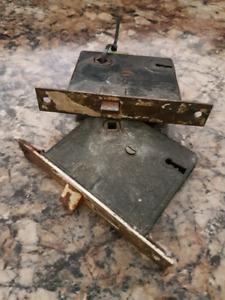 Antique Door Mechanism