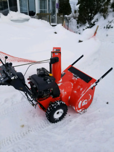 Soufeuse Ariens 11528 deluxe