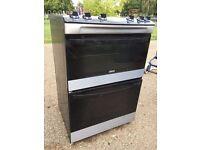 Zanussi oven with ceramic hob. The model number is ZCV66030XA.Fully Working.Twickenham