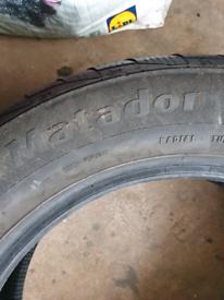 Winter tyres 255/55/18