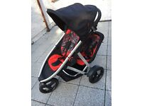 Phil &Teds double buggy 3 wheeler