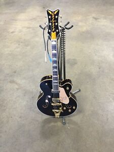 2007 Gretsch Black Falcon 6136 DSBK With Chet Bigsby