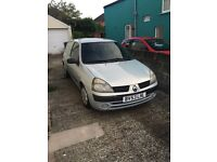1.5dci Clio van need mot £400one