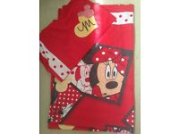 Minnie Mouse bedding pink & red